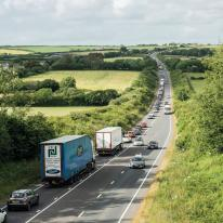 Plans to dual the A30 between Carland Cross and Chiverton Cross have been given the go ahead